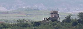 Verletzter Nordkoreaner geborgen: Soldat flieht trotz Beschuss nach Südkorea