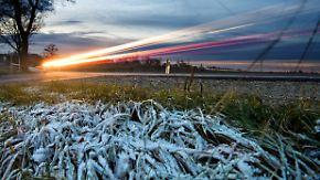 Ruhiger Herbst am Dienstag: Nacht rutscht in den Frostbereich