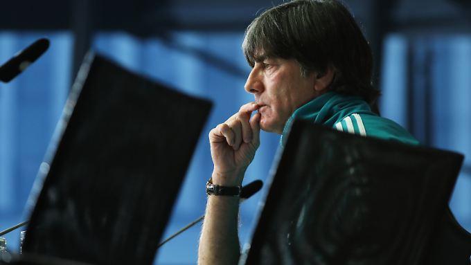 Auf Joachim Löw wartet in diesem Jahr viel Arbeit, denn er will den WM-Titel unbedingt verteidigen.