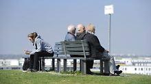 Dank boomender Konjunktur: Rentenbeitrag sinkt - Renten dagegen steigen