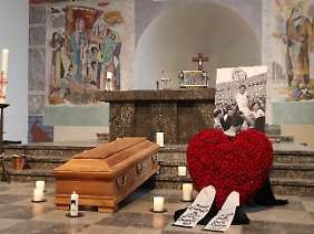Am 7. November starb Hans Schäfer, heute wurde er beigesetzt.