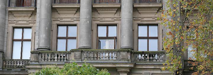 Bald aussondiert: Der Balkon der Deutschen Parlamentarischen Gesellschaft, in der CDU, CSU, FDP und Grüne über ein Jamaika-Bündnis beraten.