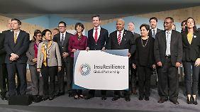 Die in Bonn vorgestellte InsuResilience will bis zum Jahr 2020 400 Millionen Menschen in Entwicklungsländern gegen Folgen des Klimawandels versichern.