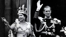 """""""Kohlkopf"""" und """"Würstchen"""": Queen und Prinz Philip 70 Jahre verheiratet"""