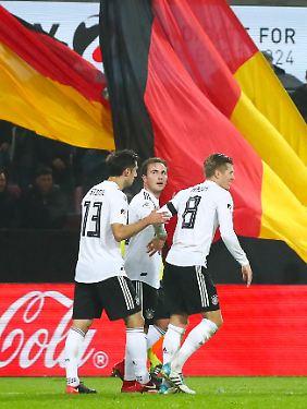 Ohne Toni Kroos geht im deutschen Spiel nichts.