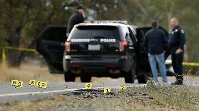 Täter auf der Flucht erschossen: Amokschütze tötet in Kalifornien vier Menschen