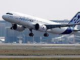 Jets für 50 Milliarden Dollar: Airbus feiert Indigo-Großauftrag