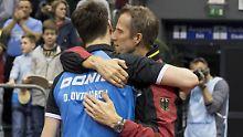 """Tischtennis-Stars im Aufwind: Roßkopf lobt seine """"China-Schrecken"""""""