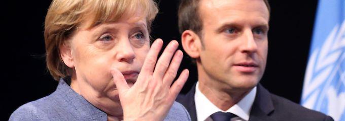 """Frankreich hat """"Schlachtplan"""": Macron stiehlt Merkel die Klima-Schau"""