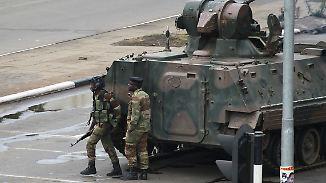Vom Freiheitskämpfer zum Despoten: Simbabwes Militär setzt Präsident Mugabe fest