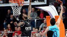 26-Punkte-Rückstand wettgemacht: Sensation: Bamberg schlägt Barcelona