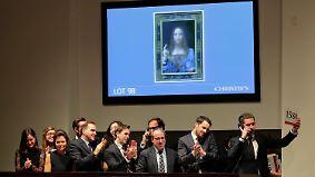 Rekordsumme für Christus-Porträt: Leonardo-Bild wechselt für 450 Millionen Dollar den Besitzer