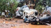 Sturmtief verwüstet Griechenland: Sturzfluten reißen 15 Menschen in den Tod