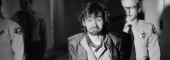 Erst Monate nach den Morden werden Manson und seine Jünger verhaftet.