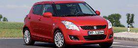 Das was einen Suzuki Swift auszeichnet ist seine Fahrdynamik.