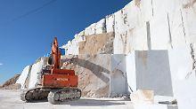 Saubere Steinbrüche? Gab es nie!: Italiens weißes Gold ist plötzlich eine Sünde