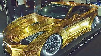 Staunen kostet nichts: Dubai Motor Show protzt mit prunkvollen PS-Monstern