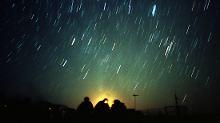 Kein Mond stört die Leoniden: Sternschnuppenregen auf dem Höhepunkt