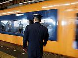 """""""Zutiefst unangenehm"""": Zug in Japan fährt 20 Sekunden zu früh los"""
