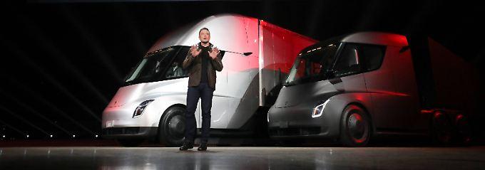 Visionen statt Profit bei Tesla: Musk liefert lieber Ideen als Autos