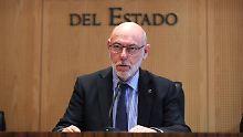Ankläger im Fall Puigdemont: Spaniens Generalstaatsanwalt gestorben