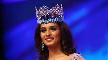 Wieder kein Titel für England: Miss World kommt aus Indien
