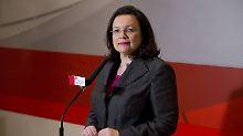 SPD erwägt Übergangslösung: Nahles redet über Minderheitsregierung