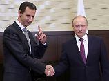 Putin kündigt Einsatzende an: Iran sieht IS in Syrien besiegt