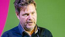 Flügelkampf um Parteivorsitz?: Habeck und Baerbock wollen Grüne führen