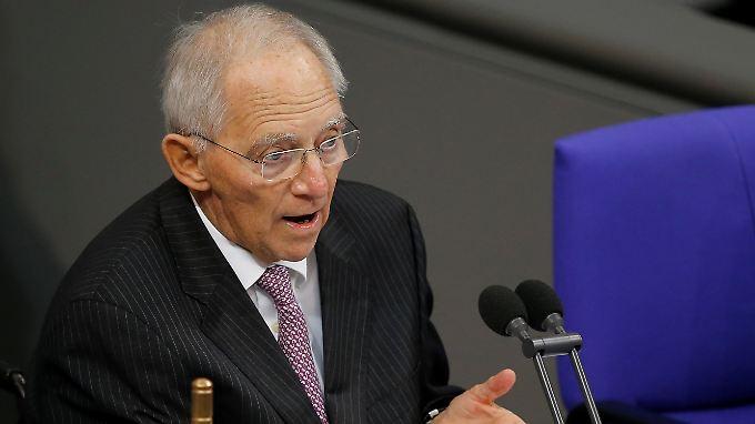 Seit vergangenem Jahr ist Wolfgang Schäuble Präsident des Bundestags.