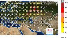 Ursprung in Russland?: Ruthenium-106-Werte lassen aufmerken