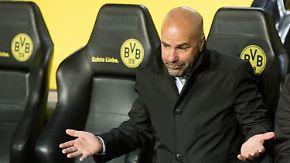 """Peter Bosz zu Dortmunds CL-Aus: """"Das Vertrauen ist dünn"""""""