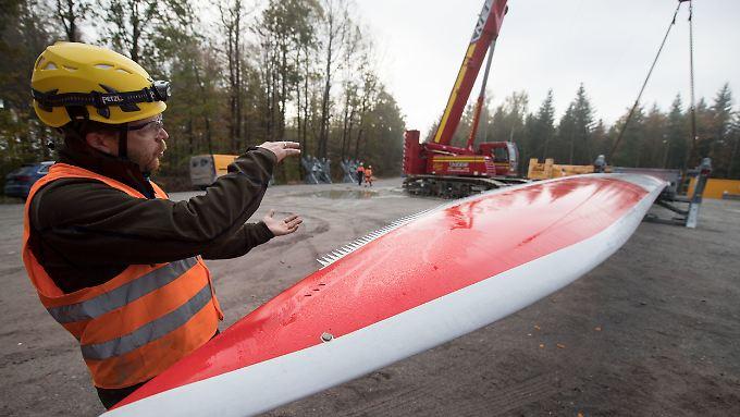 Bau neuer Windräder: Über Ausschreibungen ermittelt die Bundesnetzagentur einen Durchschnittspreis zur Vergütung von Strom aus geplanten Windkraftanlagen.