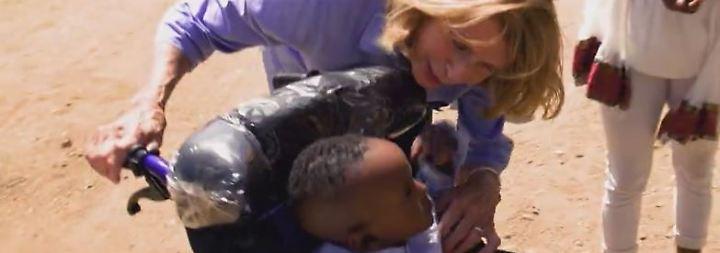"""RTL-Spendenmarathon startet: """"Wir helfen Kindern""""-Patin Senta Berger unterstützt Klinik in Eritrea"""