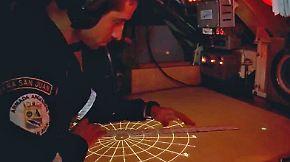 Hinweis auf verschollenes U-Boot?: Rettungsteams untersuchen ungewöhnliches Geräusch