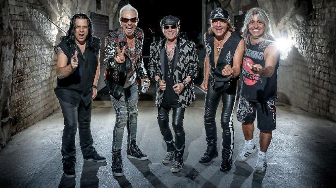 Alle Rocker haben bekanntlich auch eine weiche Seite: die Scorpions.