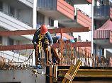 Niedrigzins und Auftragshoch: Baubranche boomt wie zuletzt vor 20 Jahren