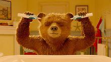 """Egoman, eitel, abgehalftert: Hugh Grant stiehlt """"Paddington"""" die Show"""