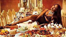 Lecker Thanksgiving: Und zum Nachtisch? Naomi Campbell!