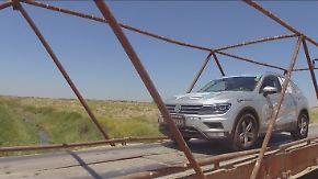 Von Shanghai nach Venedig: Langstreckenprofis jagen im VW Tiguan den Weltrekord