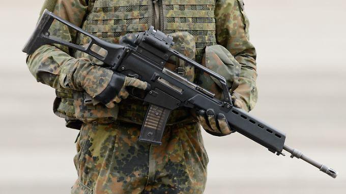 Standardwaffe für Infanteristen: Die Bundeswehr sucht einen Nachfolger für das Sturmgewehr G36.