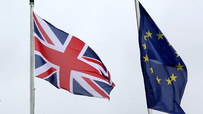 Wachstumserwartungen für das britische Bruttoinlandsprodukt sind im Zeitraum 2016 bis 2020 um fünf Prozent niedriger als vor dem Brexit-Wahlkampf.