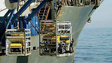 Technische Hilfe aus Russland: Tauchroboter sucht nach U-Boot