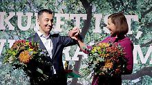 Parteitag in unsicheren Zeiten: Die Grünen jagen das gelbe Mini-Me