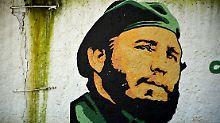 """""""Fidel ist nicht tot"""": Kubaner gedenken ihres Revolutionsführers"""