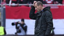 Und nun? Kaiserslauterns Trainer Jeff Strasser.