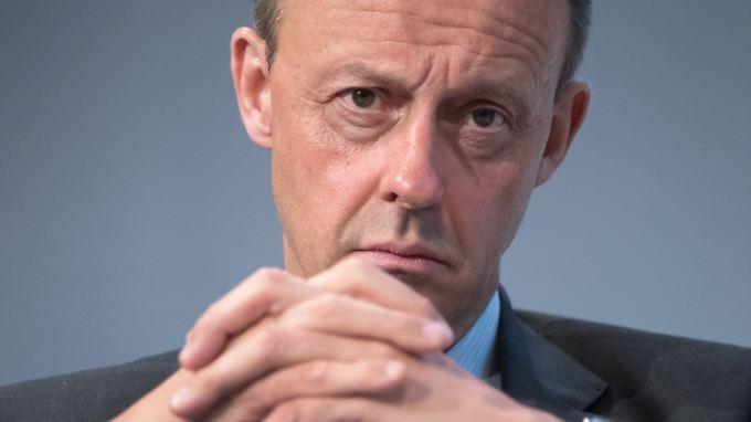 Soll den Flughafen Köln-Bonn stärken: CDU-Politiker Friedrich Merz.