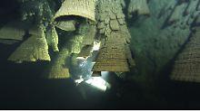 Einzigartiges Naturphänomen: Unterwasser-Tropfsteine geben Rätsel auf
