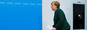 Wenn keine GroKo zustande kommt: Merkel erwägt Minderheitsregierung