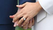 Alle Fakten zum Klunker: Das bedeutet Markles Verlobungsring